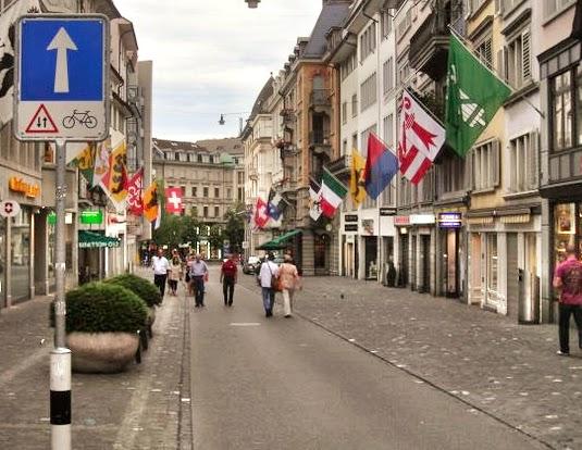 Contrasentido en Zurich